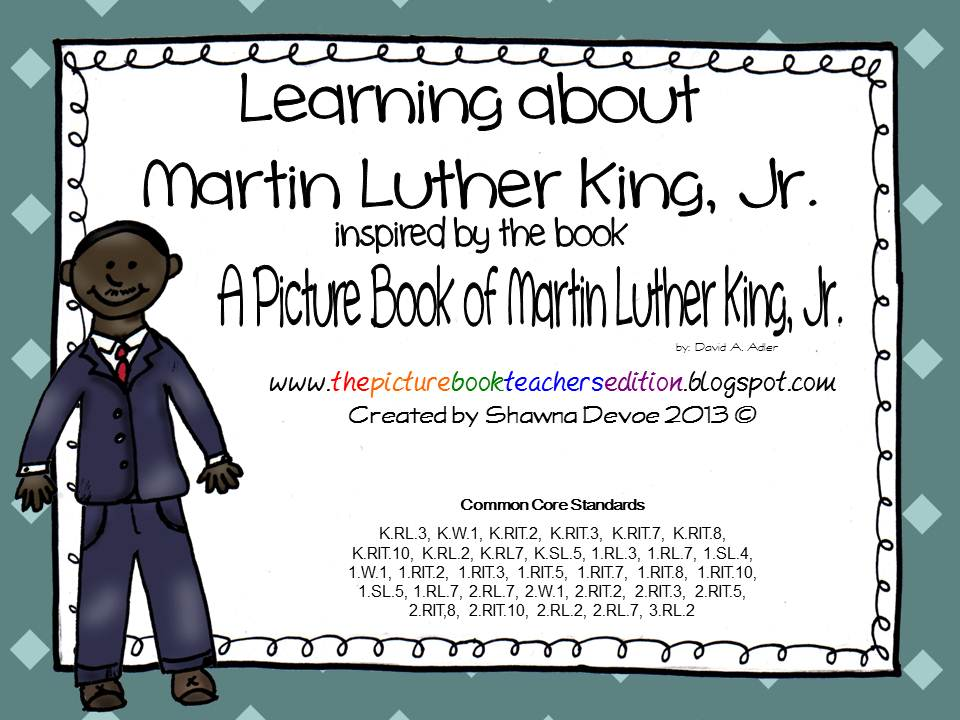 a picture book of martin luther king jr pdf