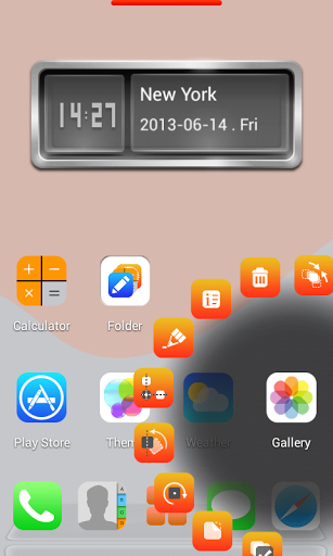 ios launcher wallpaper: IOS 7 Next Launcher Theme Apk V.1.3 Full Version