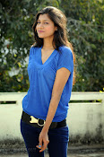 Sneha Tagore Photo shoot in Blue-thumbnail-5