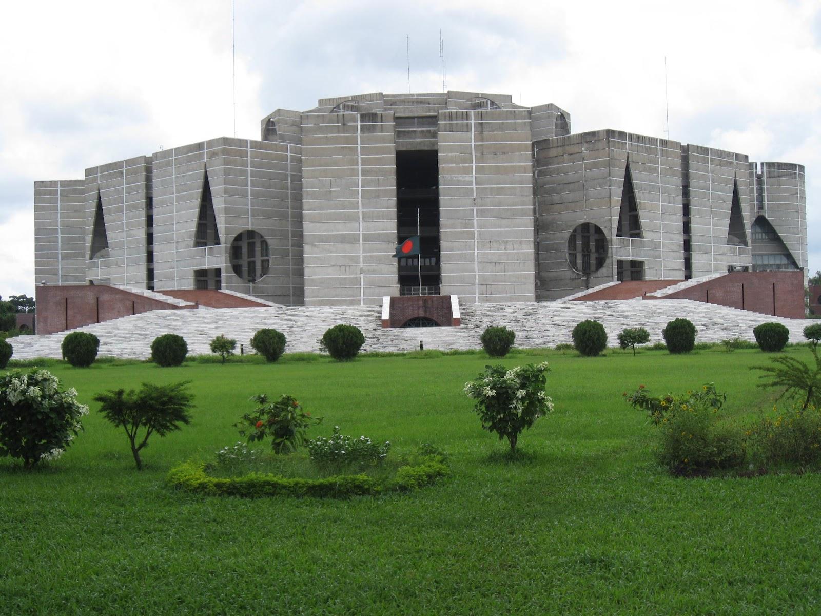 Tourism in bangladesh parliament house for Bangladeshi house image