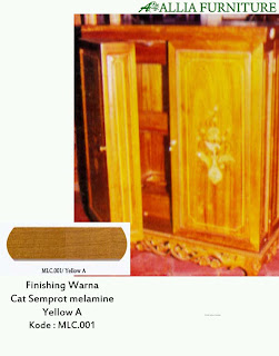 contoh furniture semprot melamine 1 allia furniture