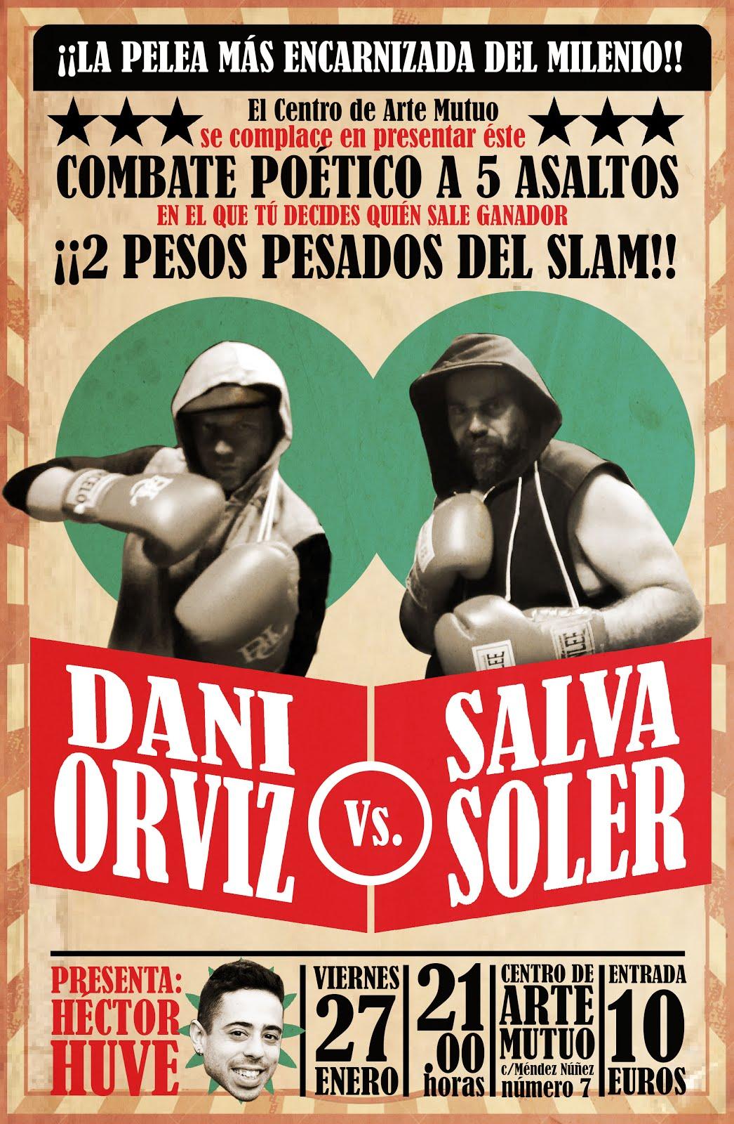 BARCELONA, 27 DE ENERO: DANI ORVIZ VS. SALVA SOLER