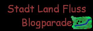 """Das Bild zeigt den Schriftzug """"Stadt Land Fluss, flankiert von einer Zeichnung, die eine Stadt, Land und einen Fluss darstellen soll."""