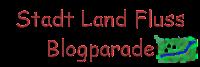 Das Bild zeigt das Logo der Stadt Land Fluss - Blogparade.