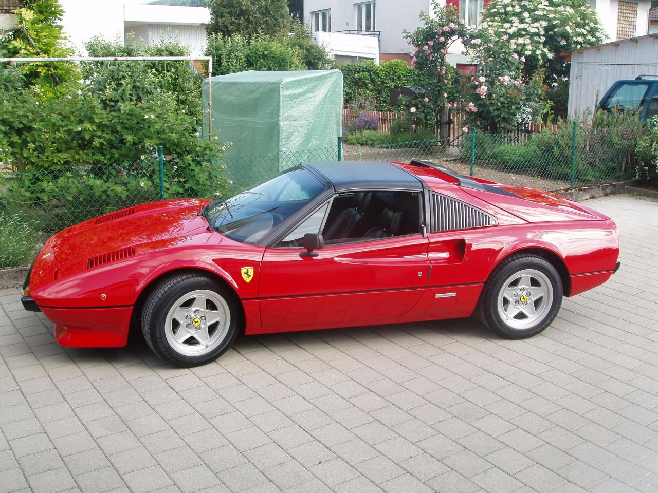 fast lane by michael bailey ferrari 308 gtb gts. Black Bedroom Furniture Sets. Home Design Ideas