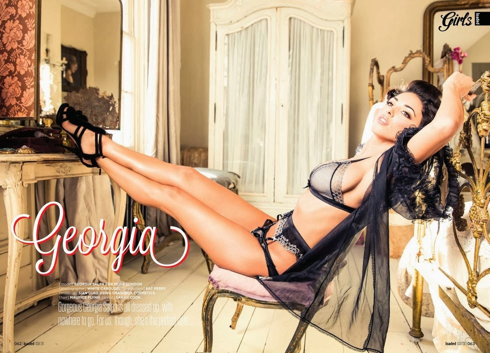 Georgia Salpa HQ Pictures People Magazine Photoshoot March 2014