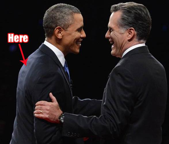 fair america mitt romney wear earpiece president stay power contompasis