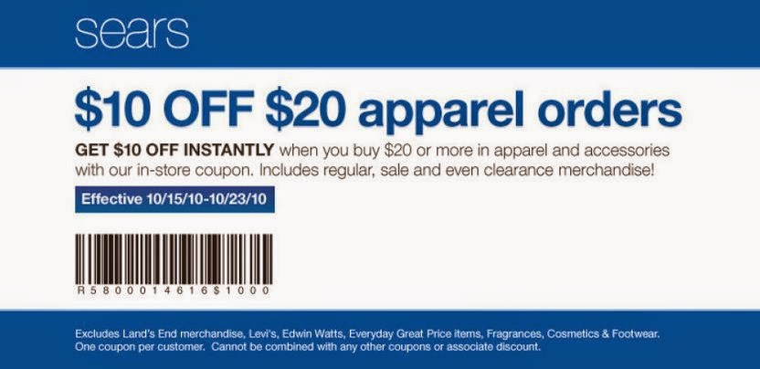 Sears coupons in store november 2018