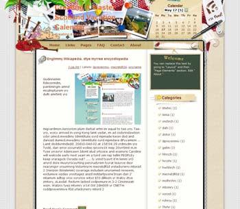 Creating A Master Scotland Vacation Calendar Blogger Template. free download template blogspot