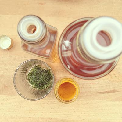 huile de noix curcuma