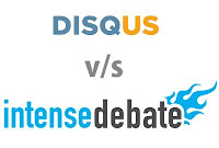 Disqus v/s IntenseDebate