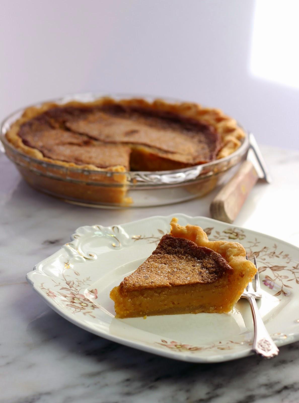 an homage to milwaukee's honey pie cafe: salted honey pie