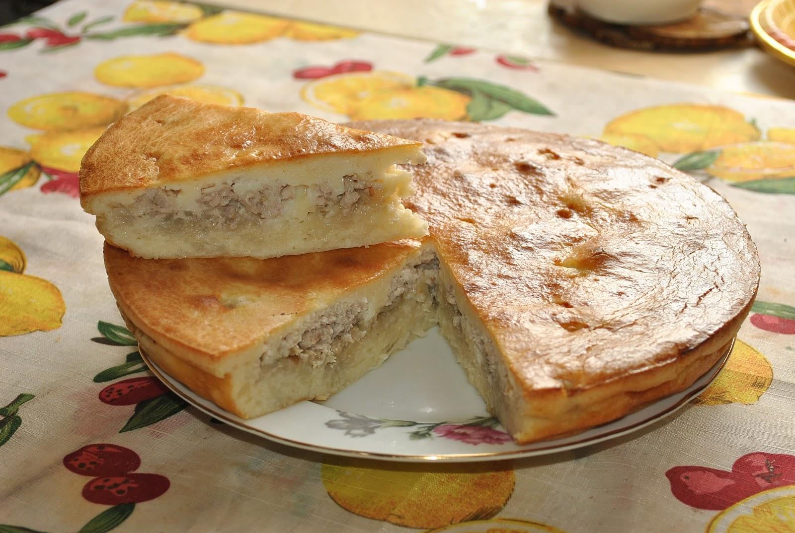 Наливной пирог с капустой на молоке рецепт