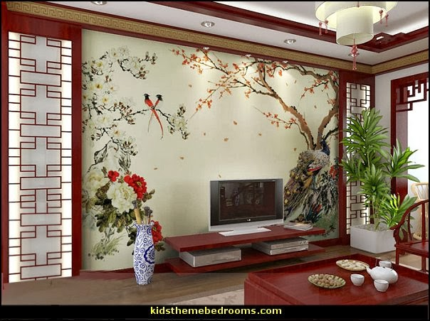 Decorating theme bedrooms maries manor oriental theme for Bedroom inspiration oriental