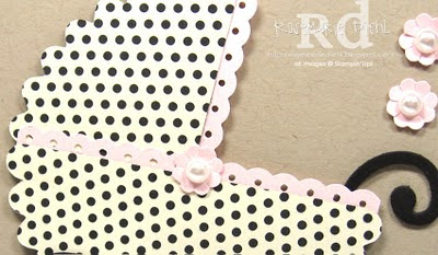 Rose's World: polka dotted baby buggy