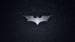 Batman Metal Bat Logo HD Wallpaper