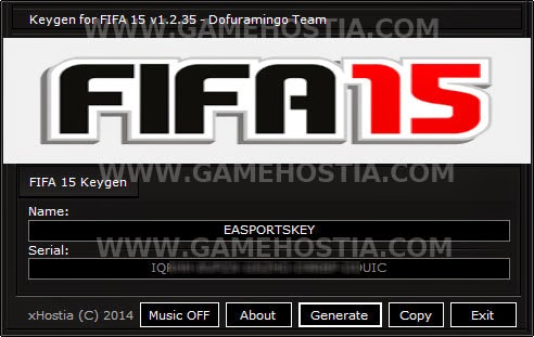 fifa 15 activation key free download