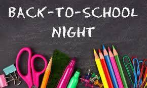 Back to School Night 2020