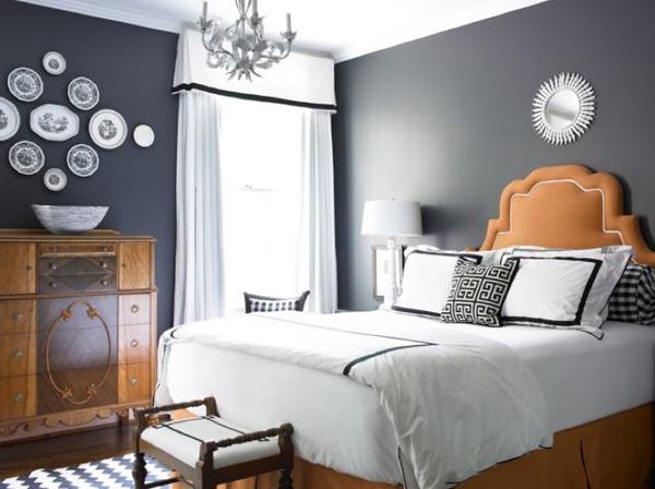 Dormitorios de color gris ideas de dise o decorar tu for Dormitorio gris