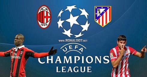 Milan AC 0 - 1 Atlético de Madrid