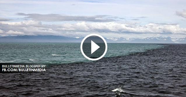 Mukjizat Alquran: Dua Lautan Ini Tidak Saling Bercampur [VIDEO]
