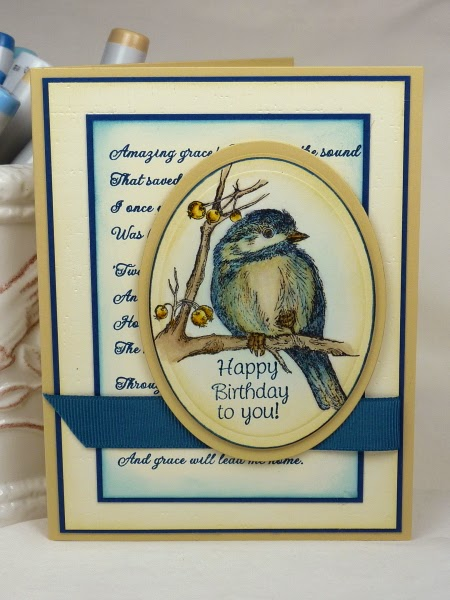 ODBD You Will Find Refuge, Amazing Grace, Card Designer Becky TE