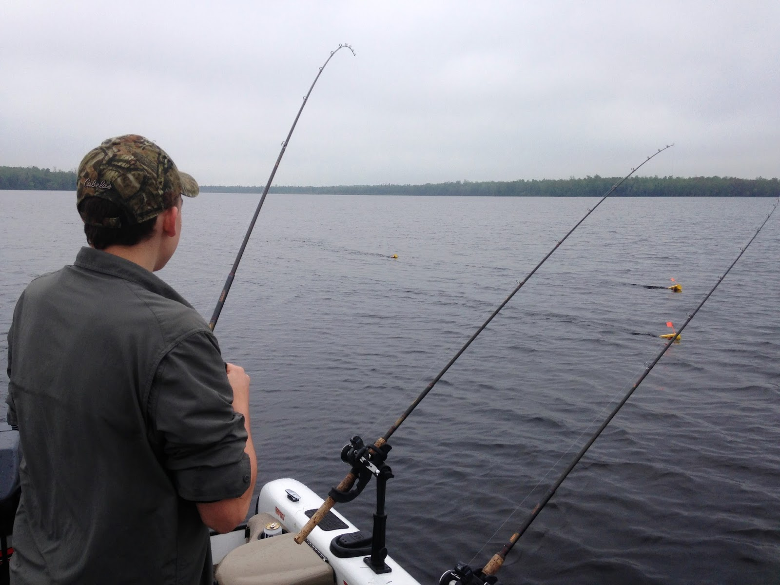 Houghton lake walleye report manistique lakes fishing trip for Houghton lake fishing report
