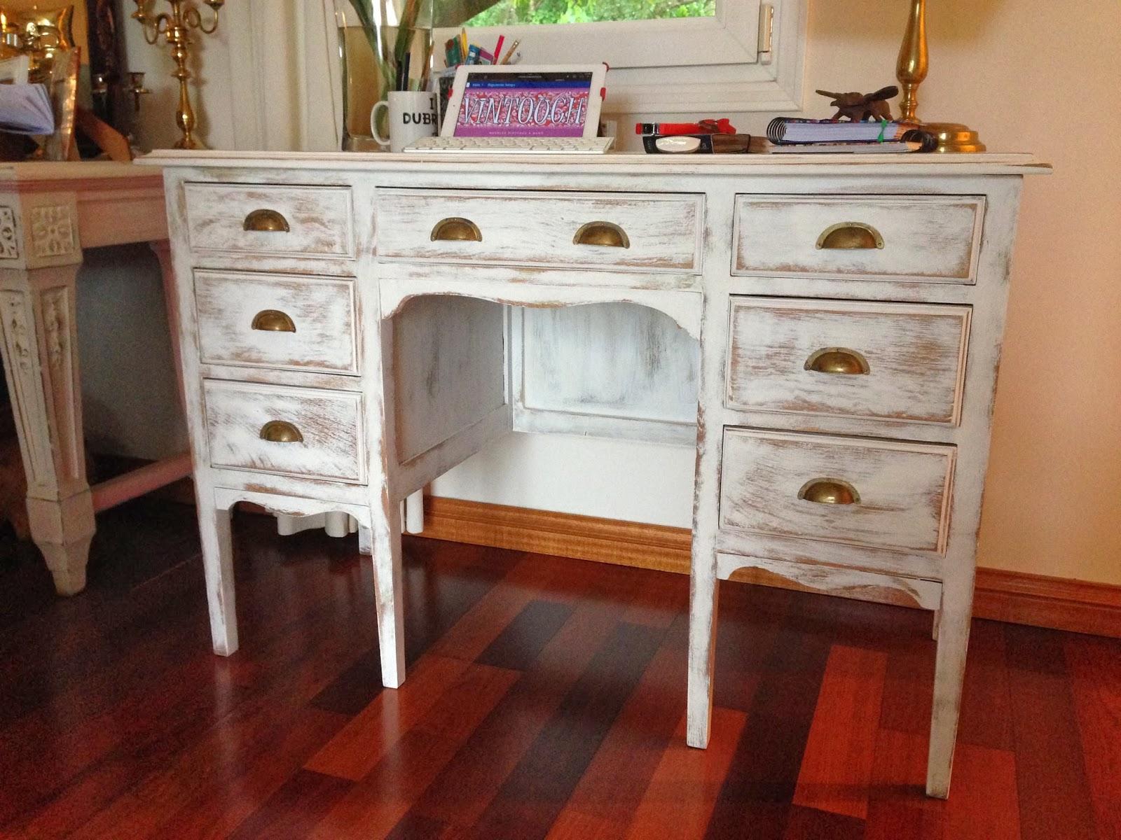 Vintouch muebles reciclados pintados a mano - Muebles en blanco ...