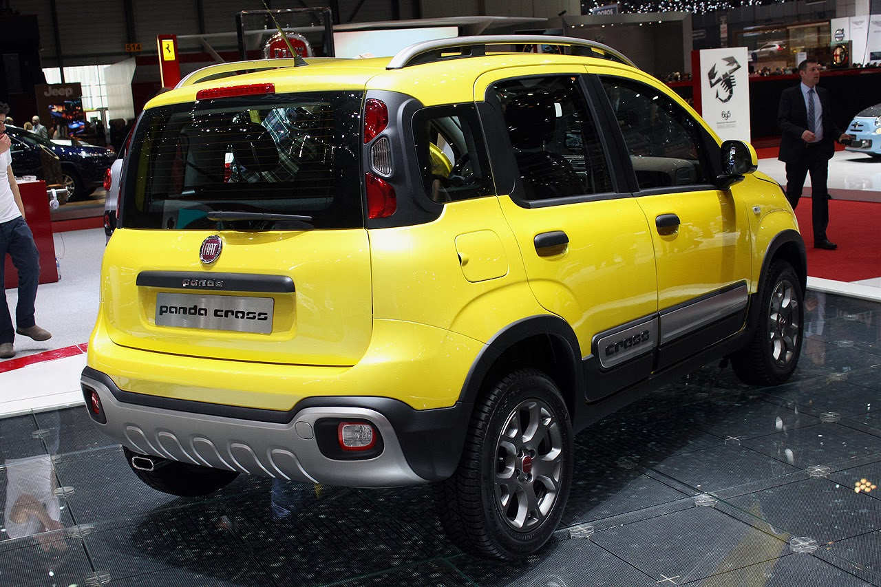 fiat panda cross geneva 2014 photos latest auto design. Black Bedroom Furniture Sets. Home Design Ideas