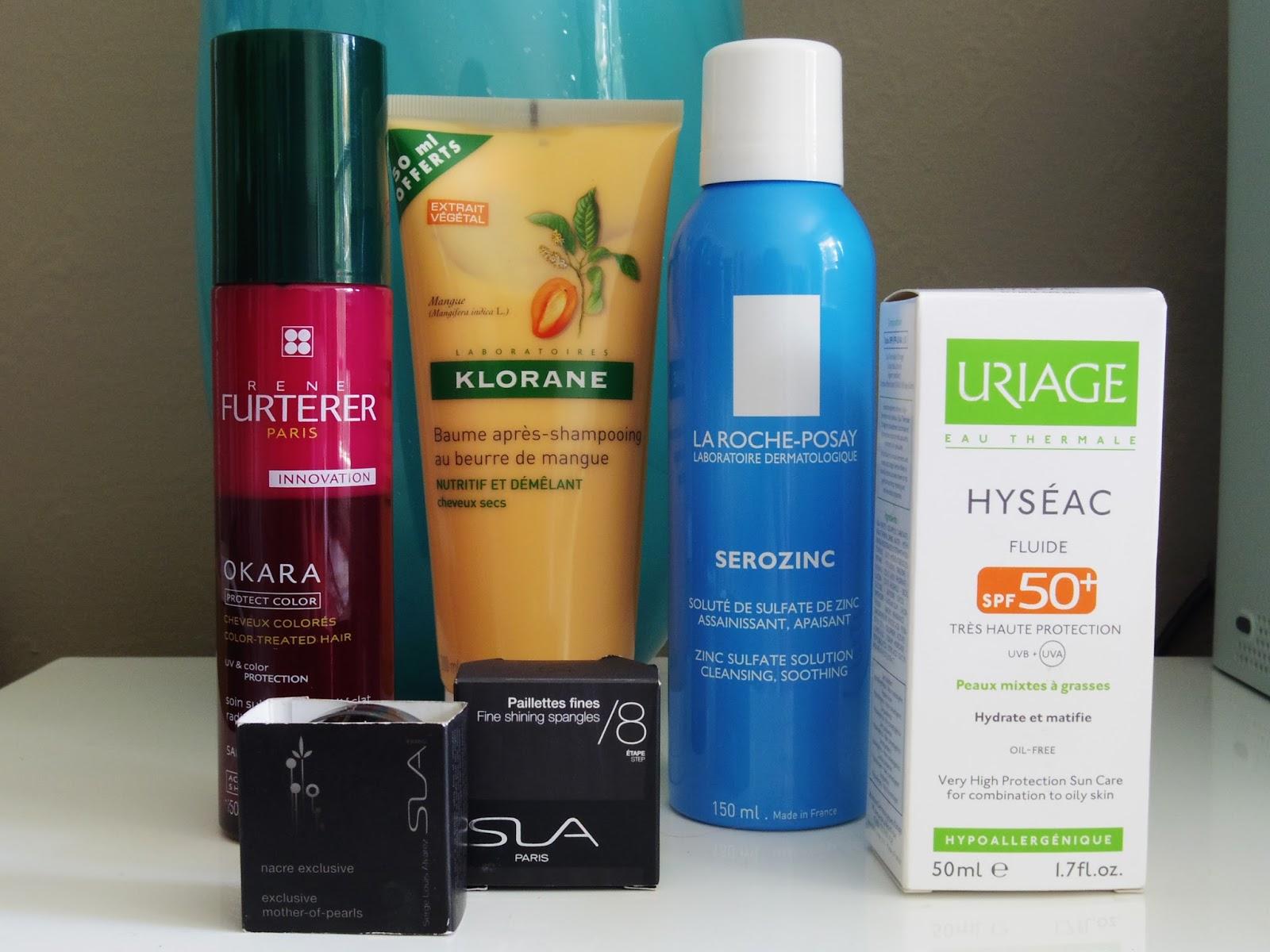 French cosmetics La Roche Posay - reviews