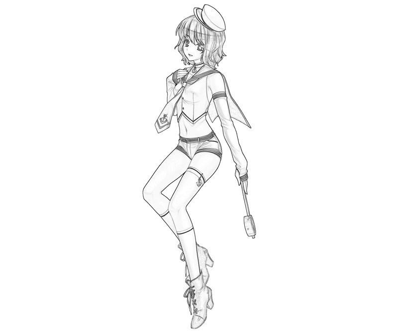 minamitsu-murasa-uniform-coloring-pages