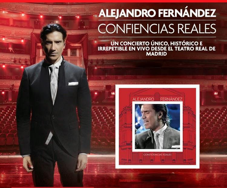 Alejandro fern ndez 2014 confidencias reales en vivo for Alejandro fernandez en el jardin mp3