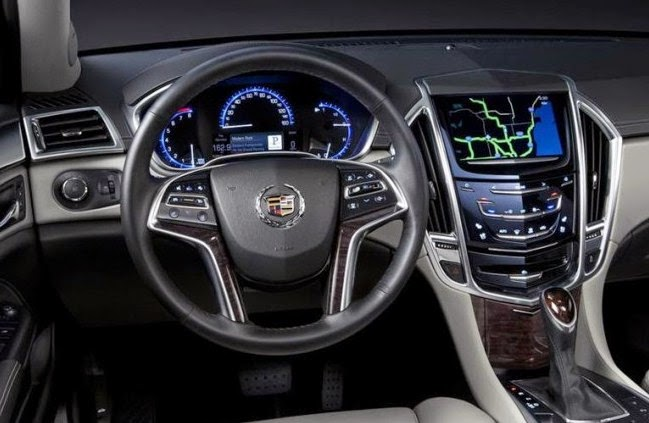 2016 Cadillac SRX interior