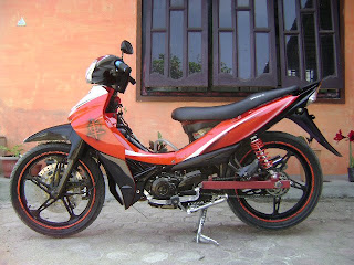 gambar modifikasi jupiter z 2009 airbrush