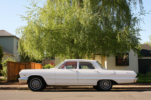 1963 Chevrolet Bel Air Sedan.