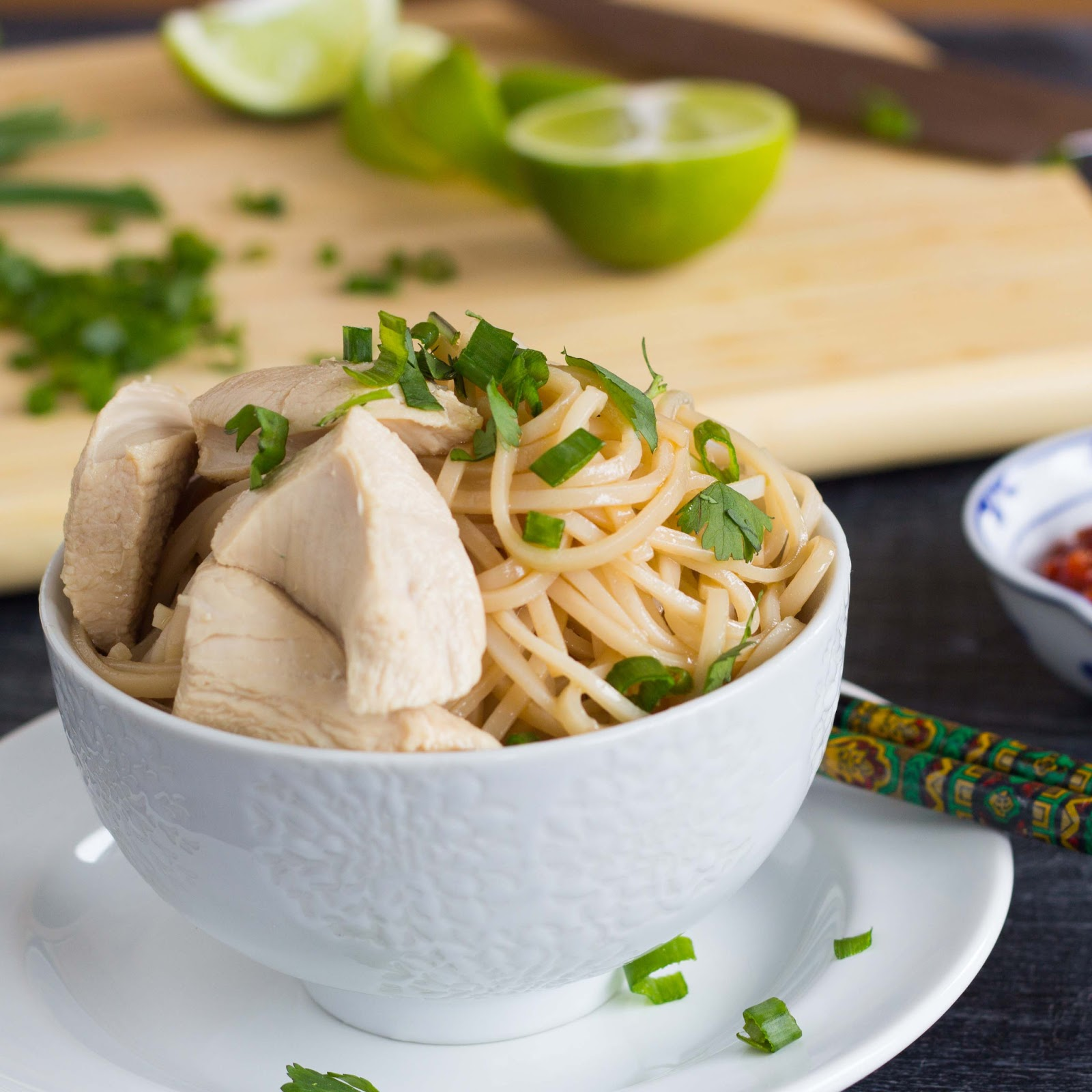 Kid Cultivation: Simple Sesame Noodles with Ginger Poached Chicken