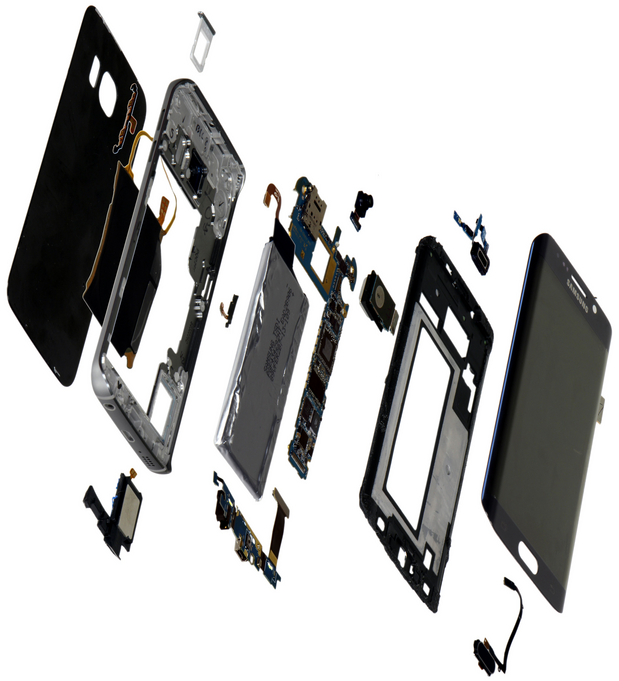 Samsung Galaxy S6 Edge Components