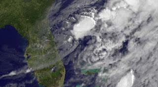 Was von DEBBY übrig blieb, Debby, aktuell, Florida, Bermudas, Satellitenbild Satellitenbilder, Hurrikansaison 2012, Atlantische Hurrikansaison, Juni, 2012, Vorhersage Forecast Prognose,