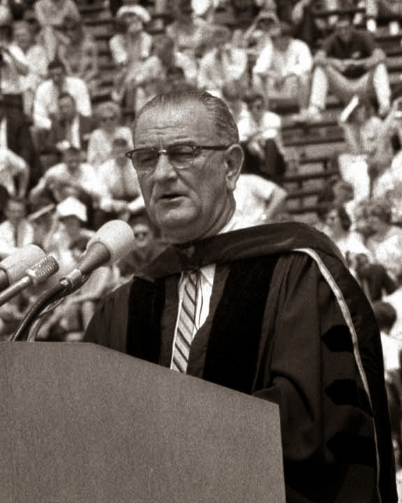 the great society welfare act introduced by the president lyndon b johnson Individual action president lyndon b johnson relied on his  chapter 17 the new frontier and the great society 611 johnson had honed his  opportunity act.