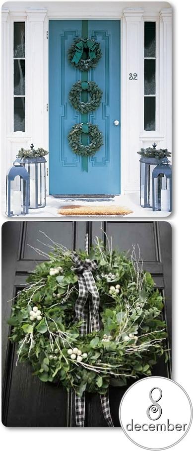 julkrans, dörrkrans