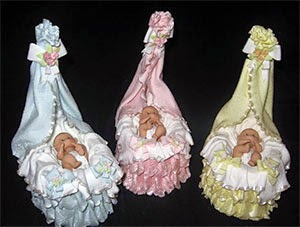 Figuras, Pastel de Baby Shower