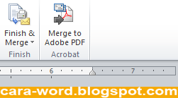 Cara Membuat Mail Merge Word