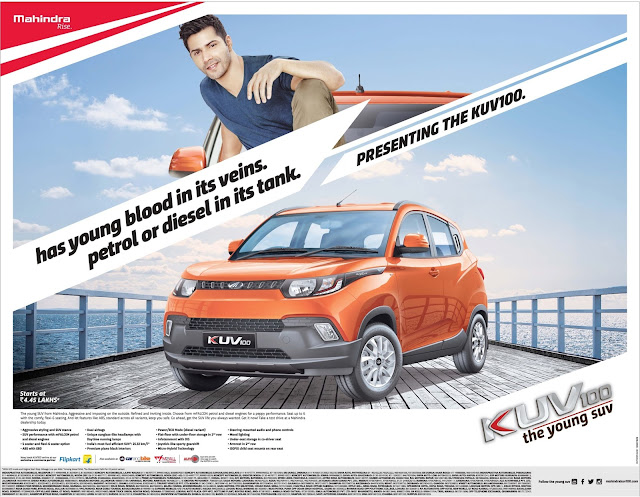 Mahindra KUV100 bookings open