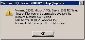 MICROSOFT SQL SERVER 2008 R2 RSFX DRIVER