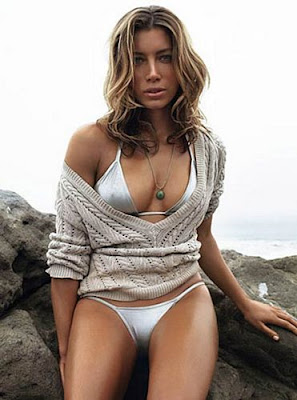 Jessica Biel Bathing Suit