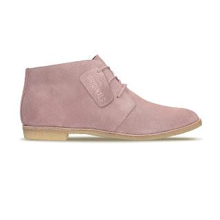Clarks, calzado, Clarks Originals, menswear, Suits and Shirts, spring 2016, Pantone, Phenia Desert Vintage Pink, Wallabee Vintage Pink Suede, Rosa cuarzo,