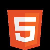 Logotipo da nova versão do HTML - HTML5