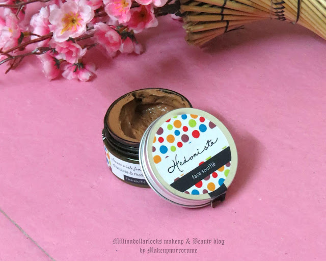 Hedonista Chocolate & Rhassoul Clay Face Souffle Review, Pictures & Price, Best face masks, Chocolate face mask, Detoxifying face mask, New skincare brands in India, Indian beauty blog, Indian makeup and beauty blog, Clay mask, Chocolate face mask review