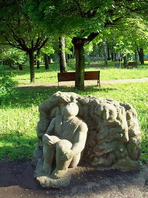 Парковая скульптура Владимирской горки