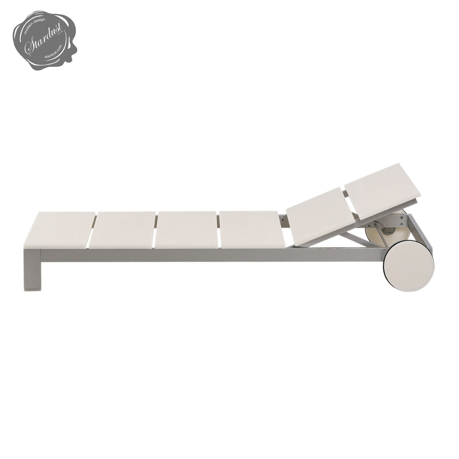 Na Xemena Tumbona by Gandia Blasco: Modern Outdoor Chaise Lounge ...